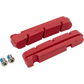 Jagwire Road Pro Plaquettes De Frein Pour Conditions Humides Shimano/SRAM, red